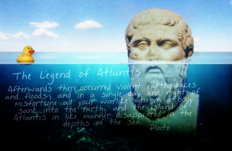 Plato pondering Atlantis