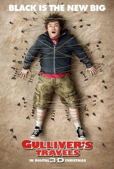 'Guilliver's Travels' 3D movie poster