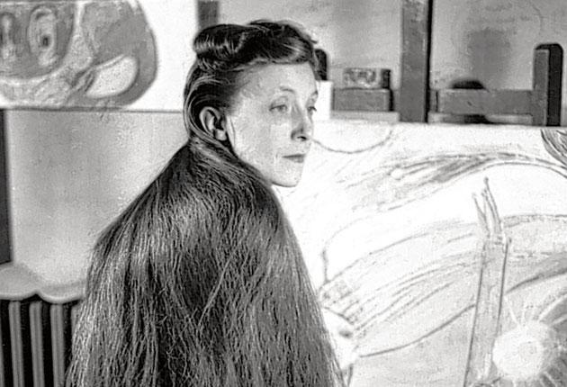 Louise Bourgeois, who died this week, pictured in 1946: we'll never know if the resentment against her father that fuelled her art was really justified