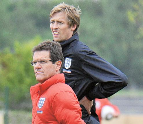 Fabio Capello should need no more convincing that Peter Crouch stands head and shoulders above Emile Heskey