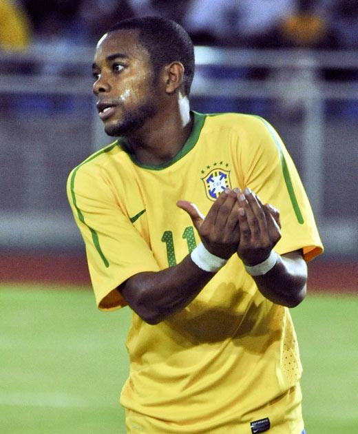<b>Robinho (Brazil)</b><br/> Yes, the very same Robinho who could be found moping around Eastlands, trying to figure out how he hadn't signed for Chelsea. Robinho's time in the Premier League was not good, and in the end he got his wish and was sent out o