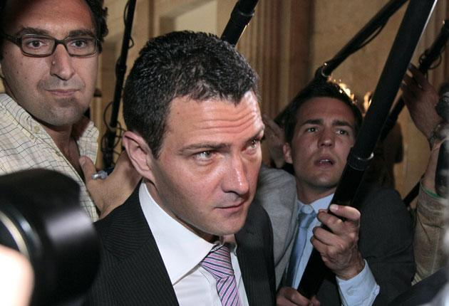 French alleged rogue trader Jerome Kerviel