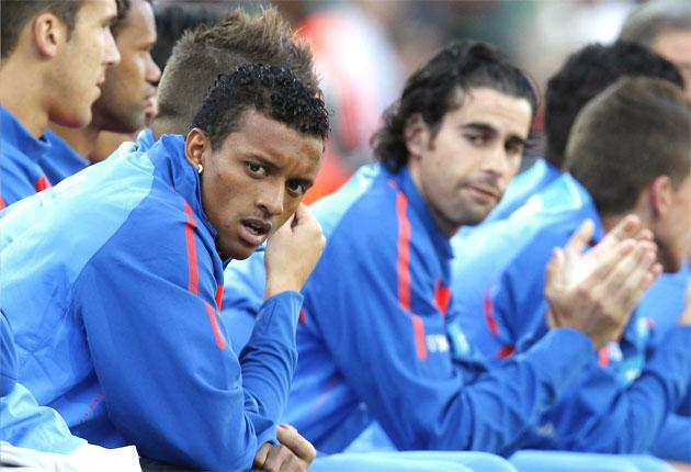 Nani had been expected to thrive in South Africa but injury has now ruled him out