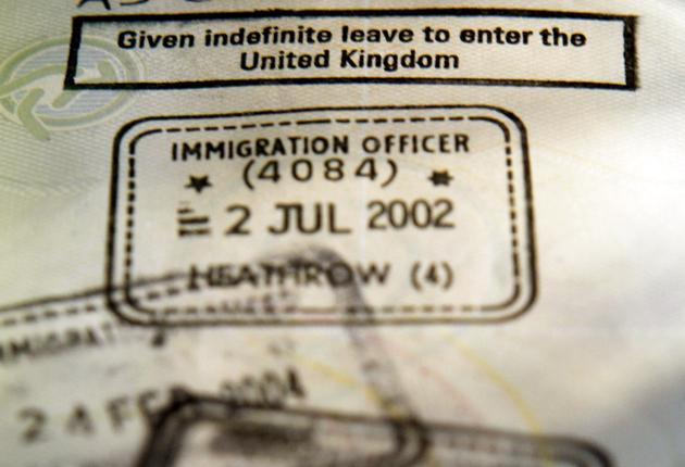After two-years immigrants can apply to the UK Border Agency for indefinite leave to remain