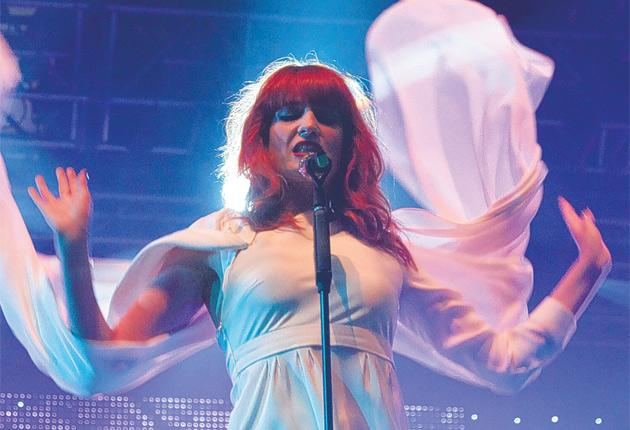 Go with the Flo: Heavy in Your Arms by Florence and the Machine was one of the specially written tracks – from 400 submitted for consideration – chosen for the soundtrack to Eclipse