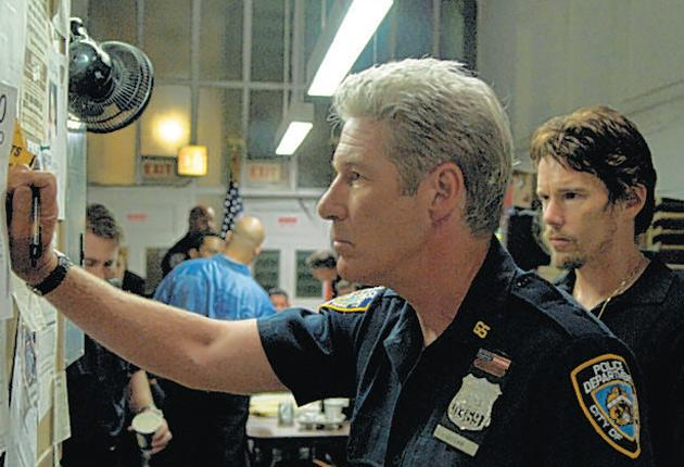 Cop out: Richard Gere andEthan Hawke in Brooklyn's Finest