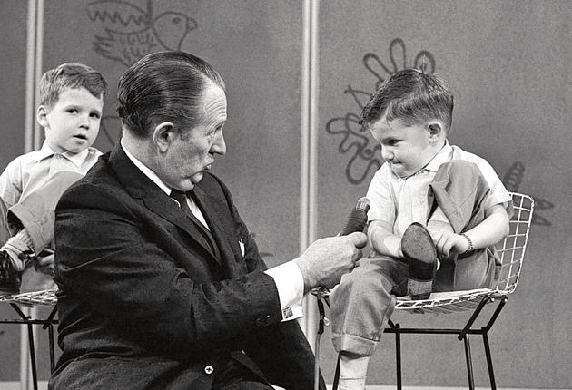 Linkletter gets the lowdown on from a young expert on an edition of 'House Party' in 1962