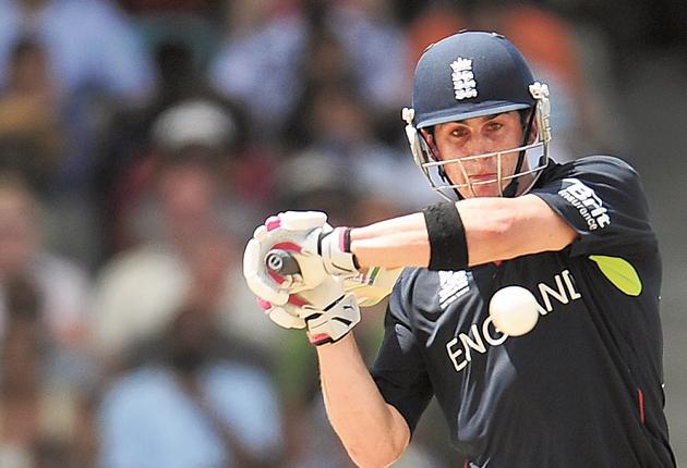 Keeping his options open: Craig Kieswetter's blood-and-thunder approach has worked in T20 and 50-over cricket - now he will be after Matt Prior's Test place