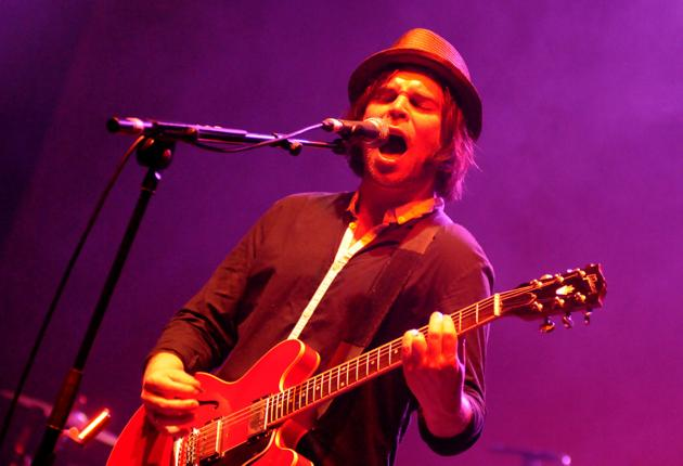 A moving farewell: frontman Gaz Coombes