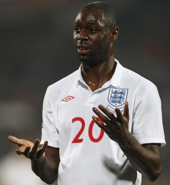 Defender Ledley King strained an abductor muscle in the first half against the US and may not feature again