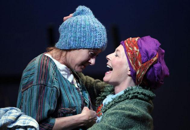 Shrewd: Niamh Cusack and Stella Gonet