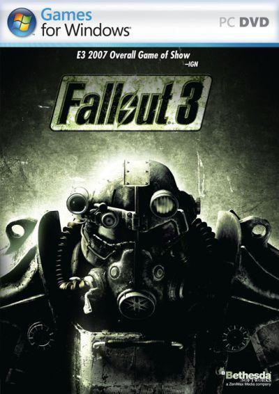 'Fallout 3' video game cover - PC version