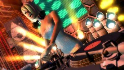 Screenshot from 'DJ Hero 2,' a remixing game for 360, PS3 and Wii