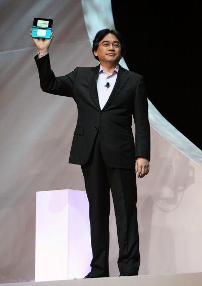 Nintendo President Satoru Iwata unveiled the 3DS at E3 in 2010