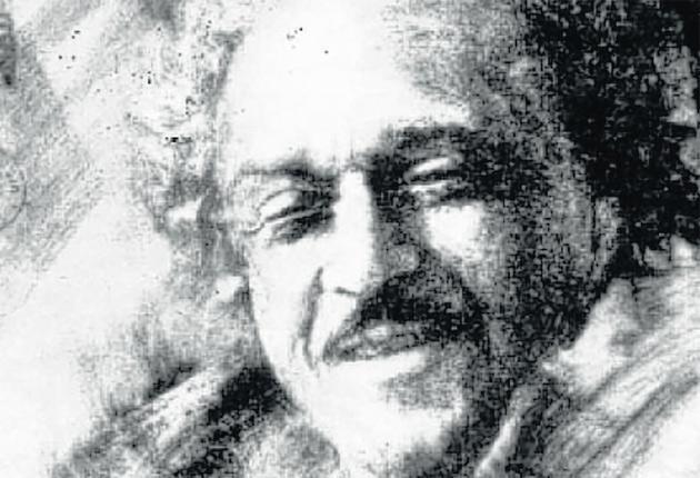 Man of mystery: portrait of Wilson Harris by Guido Villa