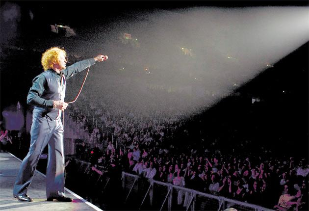 Sometimes they come back: Mick Hucknall from Simply Red