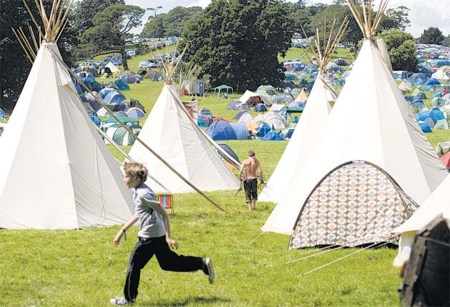 Natural pleasures: the Port Eliot Festival, which features a disco of wildlife sounds