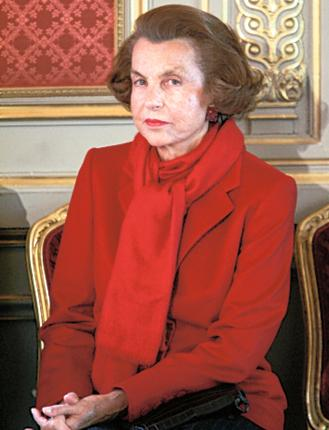 Liliane Bettencourt, the richest woman in France, is said to be a friend of the President, Nicolas Sarkozy