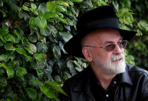 """Pratchett; """"Not that I write for the money. I write for the satisfaction of a job well done."""""""