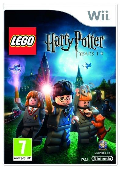'LEGO Harry Potter' video game cover - Wii, EU version (Rated PEGI 7+ / ESRB Everybody 10+)