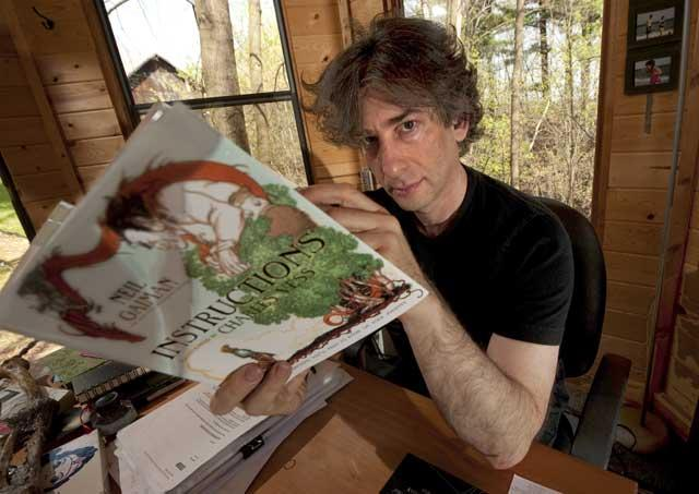 Fantasy writer and graphic novelist Neil Gaiman's writing job was a biography of Duran Duran