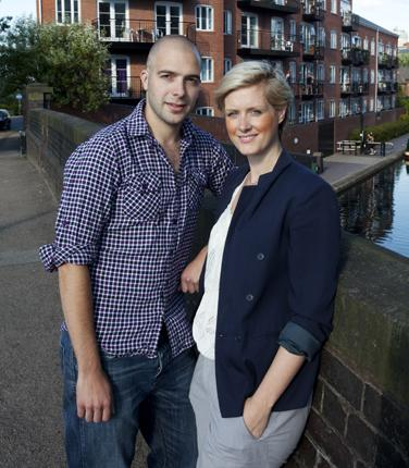 Contented tenants: High interest rates put Lucy Kemp and Dan Nash off buying, and they now rent a flat in Birmingham