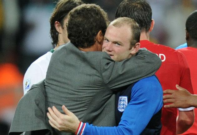 It's ridiculous to think Wayne Rooney can win the World Cup on his own. Only Maradona has managed that