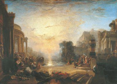 Joseph Mallord William Turner, 'The Decline of the Carthaginian Empire ...,' 1817.