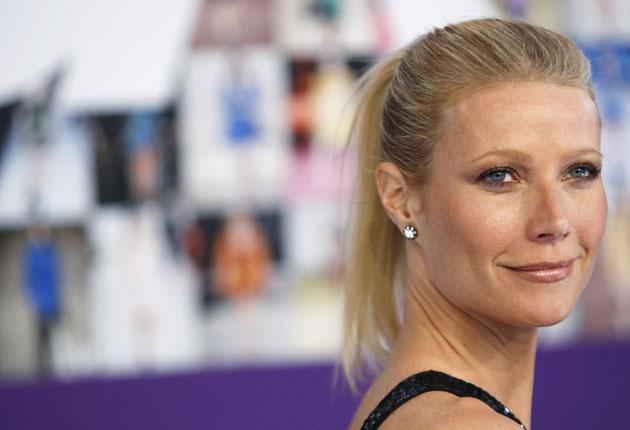 Warning signs: film actress Gwyneth Paltrow has been told she has osteopenia, which could lead to osteoporosis