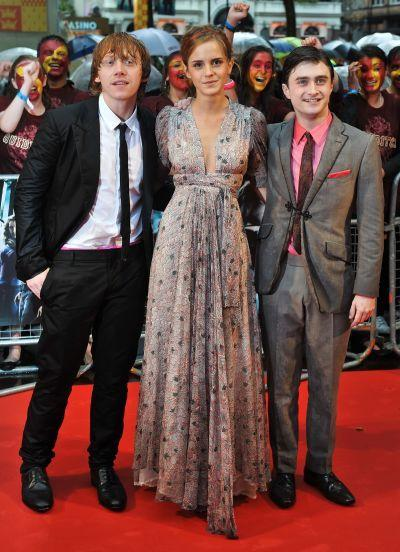 British actors Rupert Grint, Emma Watson and Daniel Radcliffe will make their Comic-Con debut this year.