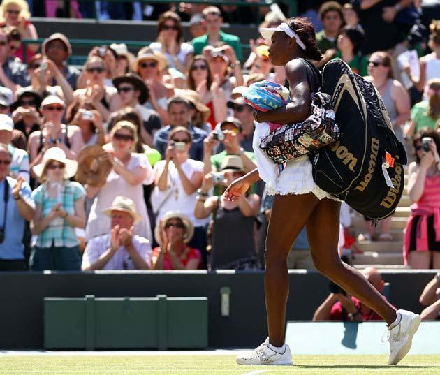 Venus' tournament comes to an end