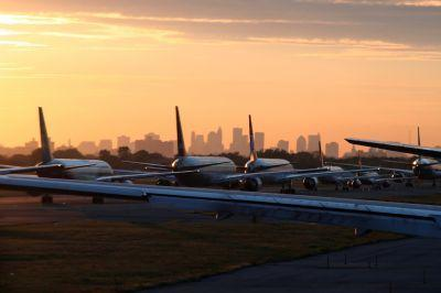 Tarmac delays in the US have plummeted since 2009, new figures showed September 13