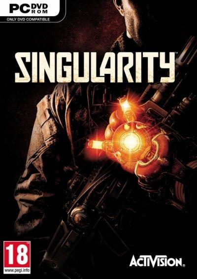 The 'Singularity' video game cover - this is the European PC version