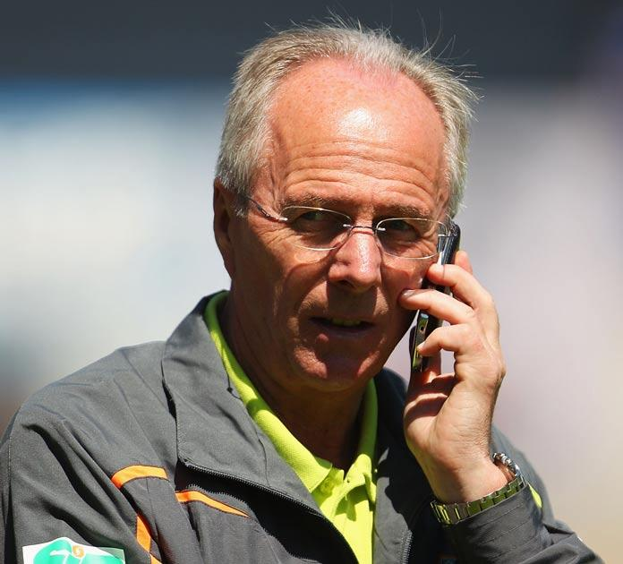 <b>SVEN GORAN ERIKSSON </b><br/> Without a club after failing to guide Ivory Coast through the 'Group of Death' at the World Cup and has a very respectable record in club management after successful spells at Lazio and Benfica. Has made no secret of his d