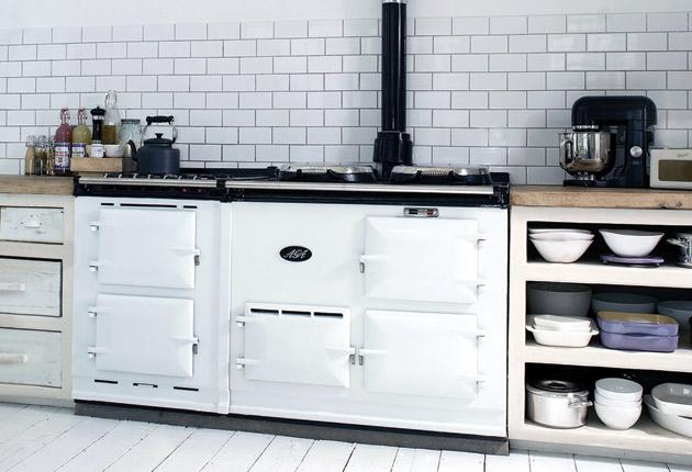 The AGA cooker is almost completely recyclable and around 70 per cent of each one is now made from previously used material