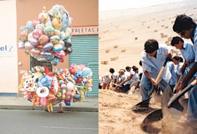 Streetwise: 'Ambulantes (Pushing and Pulling)' and 'When Faith Moves Mountains' from Francis Alÿs's show at Tate Modern