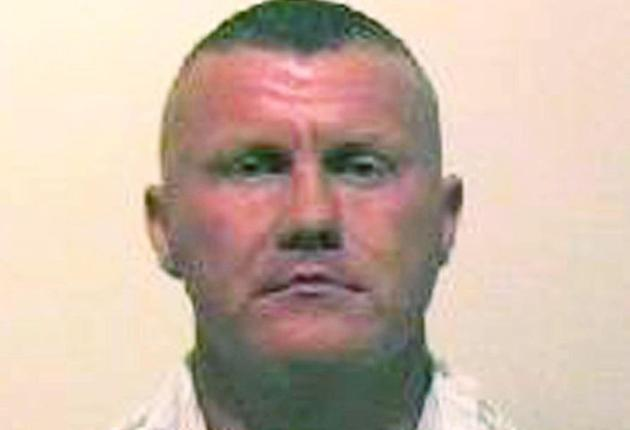 Police yesterday launched a manhunt for Raoul Thomas Moat, who was released from prison on Thursday and is understood to be the former partner of the injured woman, named locally as Samantha Stobbart.
