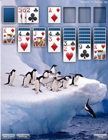 'Real Solitaire Free for iPad'