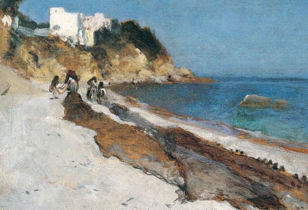 In too deep: John Singer Sargent's 'Beach Scene' (1880)