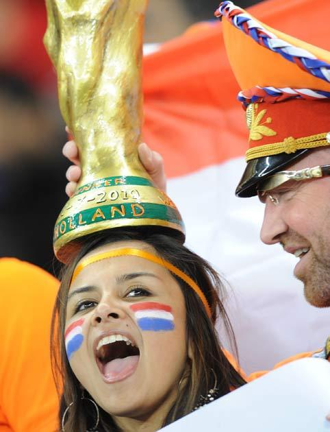 Holland have been in two previous finals