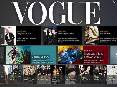 Vogue Germany for the iPad