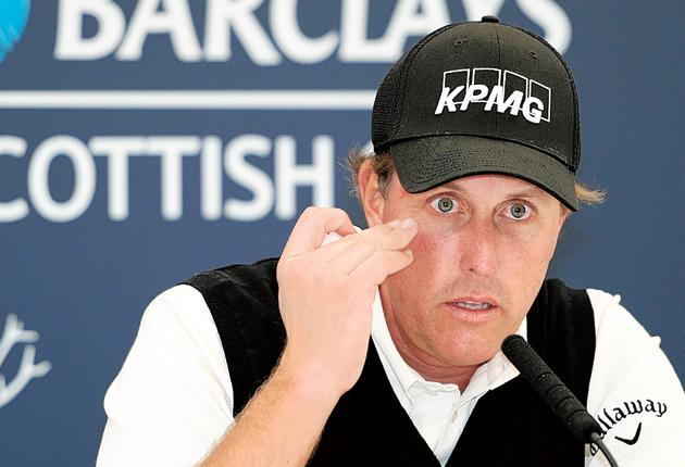 Finishing in the top two at the Scottish Open at Loch Lomond this week will elevate Phil Mickelson to No 1 in the world for the first time
