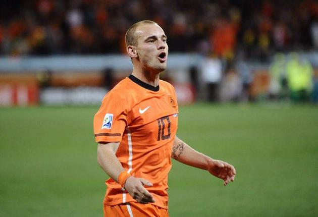 Lucio on Inter Milan teammate Wesley Sneijder: 'He never rests in a game. When we won the Champions League he was the one most sure we would beat Barca'