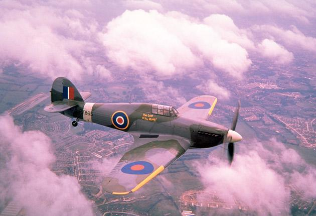 A wing and a prayer: A Hawker Hurricane
