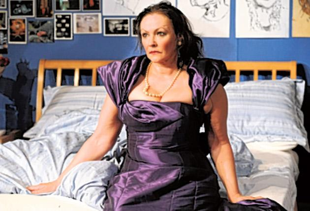 Beautifully paced performance: Frances Barber in 'That Face'
