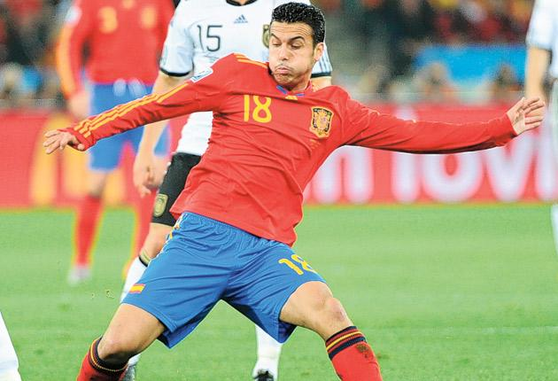 Pedro's failure to set up Fernando Torres against Germany was a rare blemish