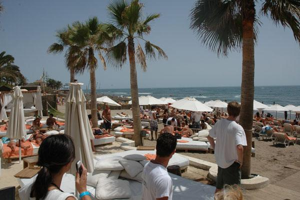 Shore thing: thriving Nikki Beach proves that the good times are back after a wintry recession