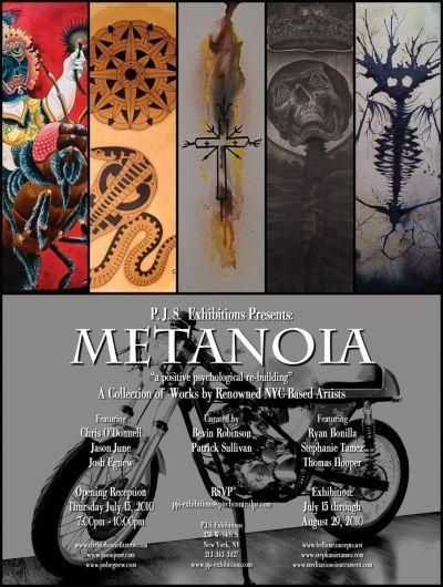 Metanoia at P.J.S. Exhibitions