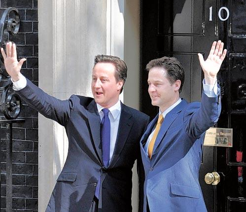 David Cameron and Nick Clegg have presided over a transition to coalition politics has been surprisingly smooth