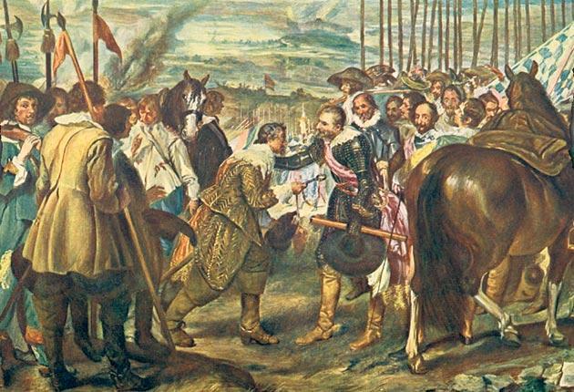 Diego Velázquez's The Surrender of Breda, 1625
